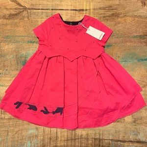 Catimini | NWT Layered Voile Dress, Size 2